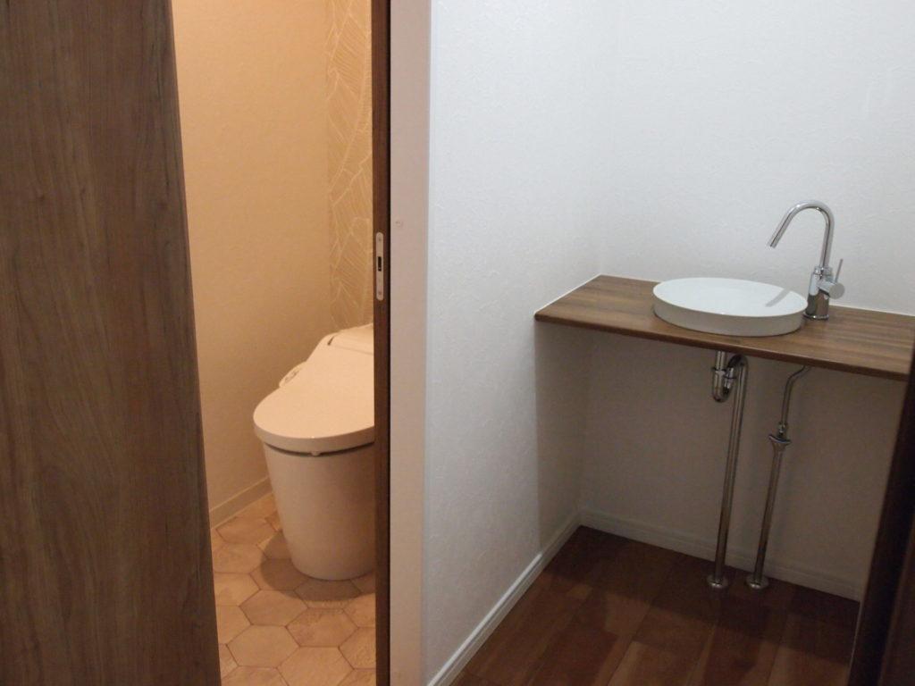 手洗い別 トイレ