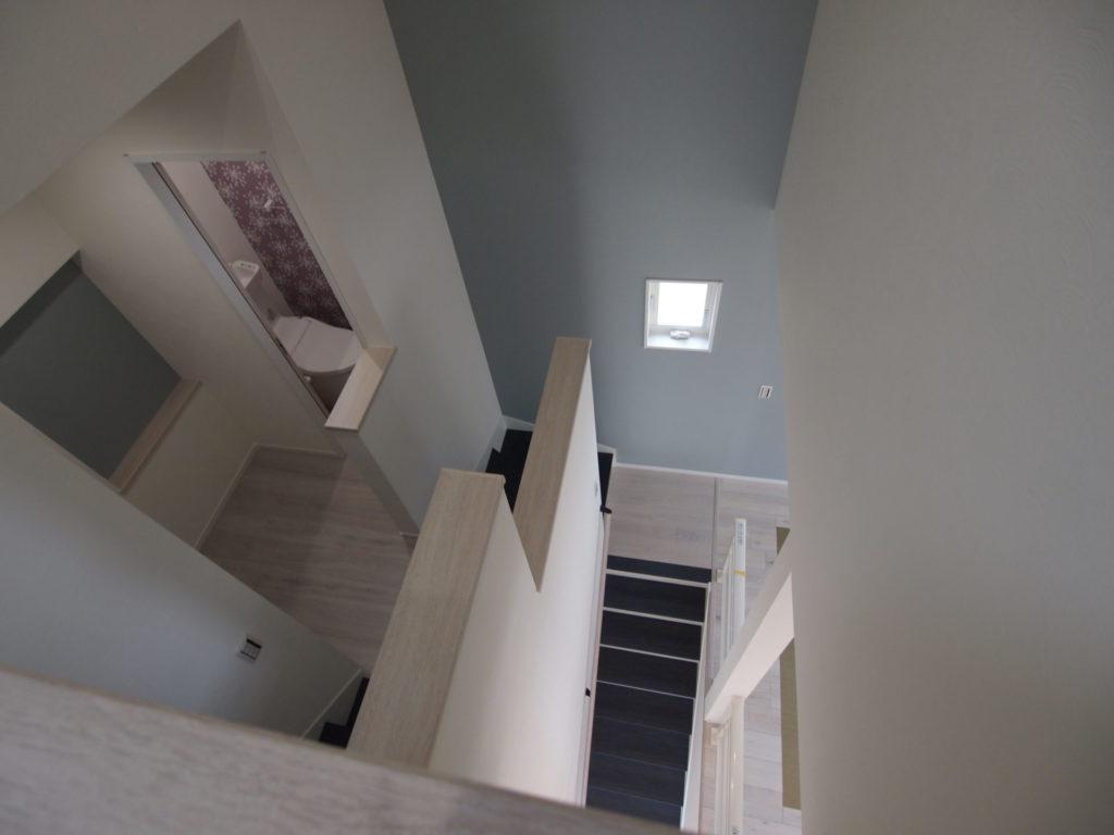 ニッチ 周り階段